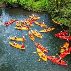 Kayaking Leeds